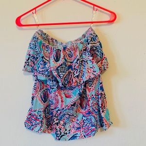 Lilly Pulitzer Shell Me About It Wiley Tube Top